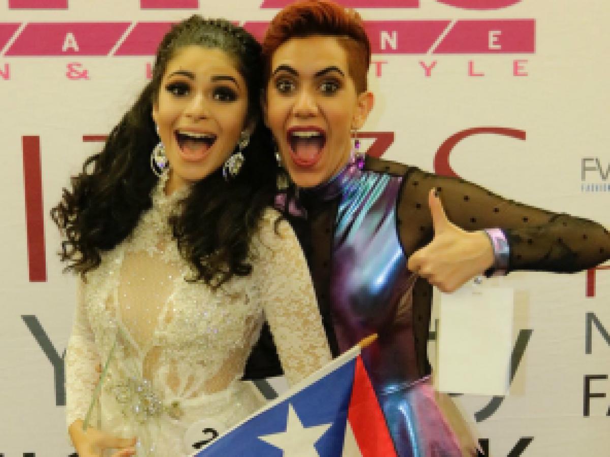 Modelos puertorriqueñas se destacan en competencia en Nueva York
