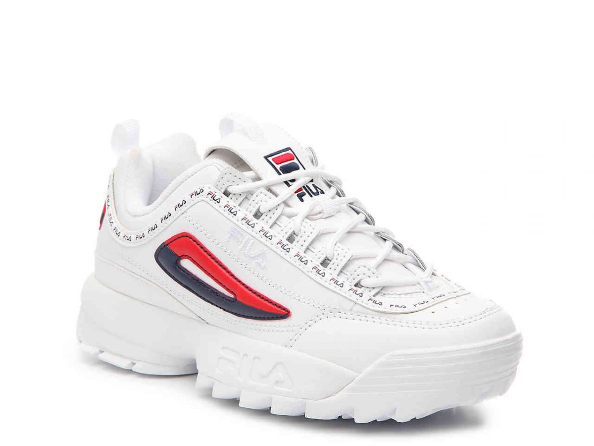 "Unos ""chunky sneakers"""