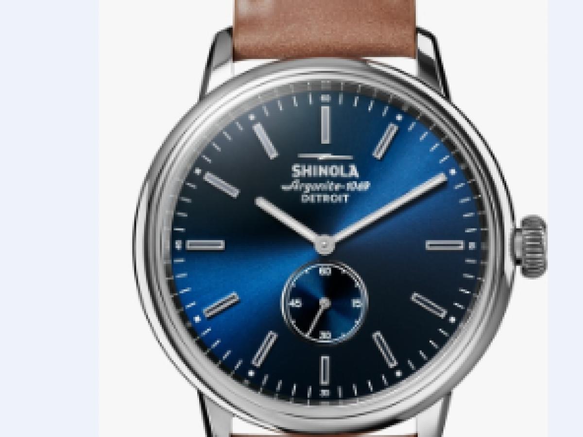 Presentación de nuevos diseños de relojes Shinola