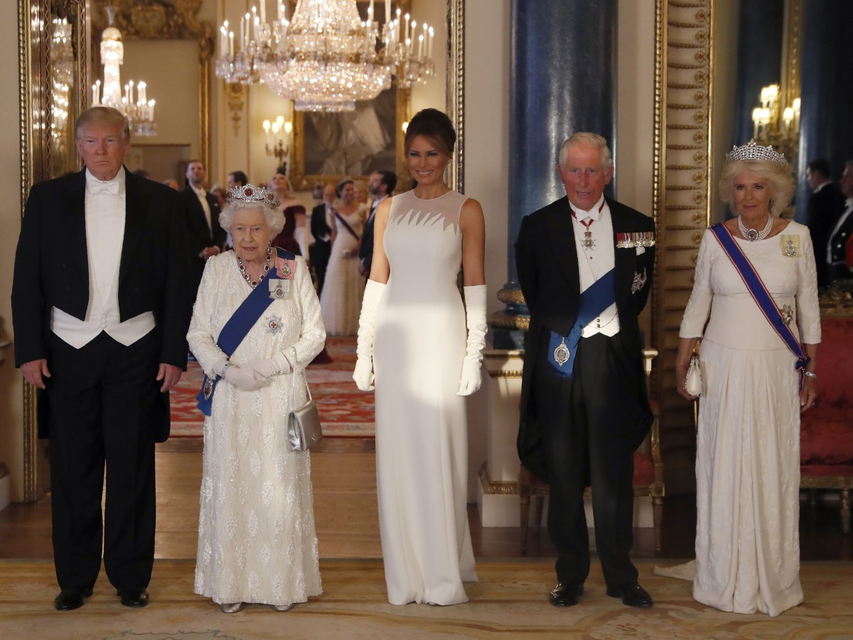 Buckingham celebra una gala en honor a los Trump