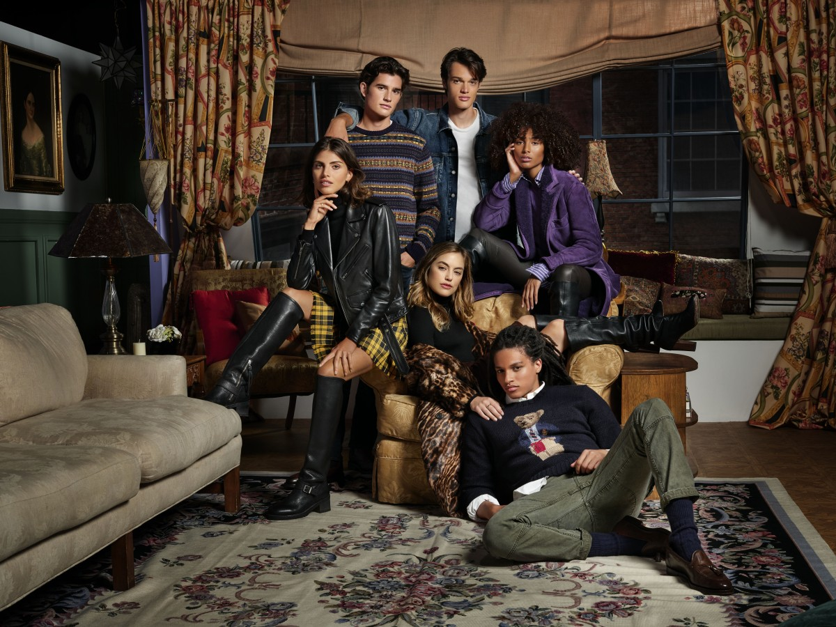"La serie ""Friends"" al estilo Ralph Lauren"