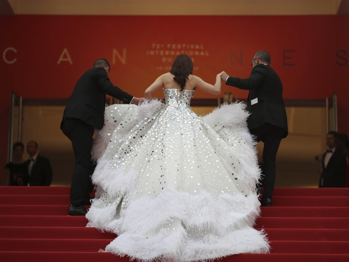 Detalles deslumbrantes en el Festival de Cannes