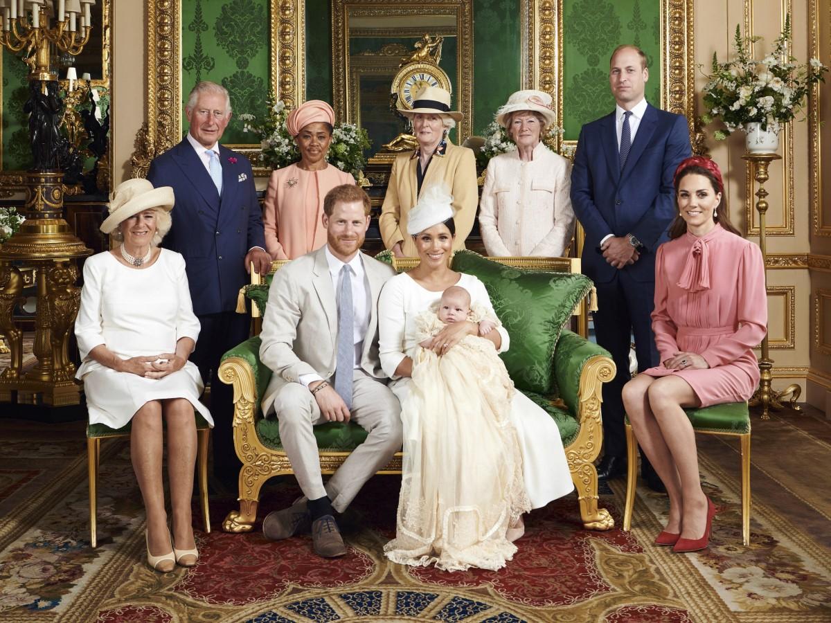 Algunos bautizos de la realeza británica