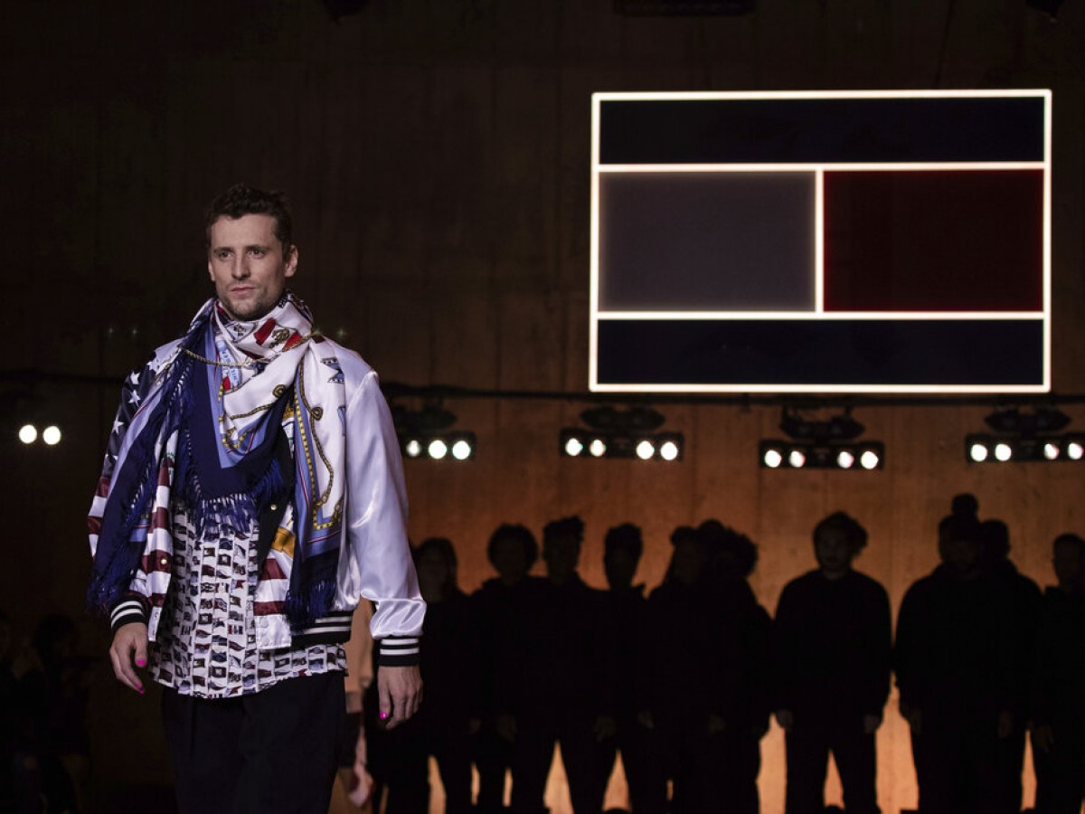 Tommy Hilfiger sorprende en el London Fashion Week