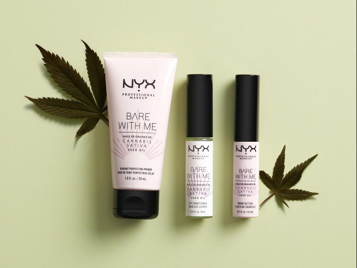 Diez productos de belleza con cannabis