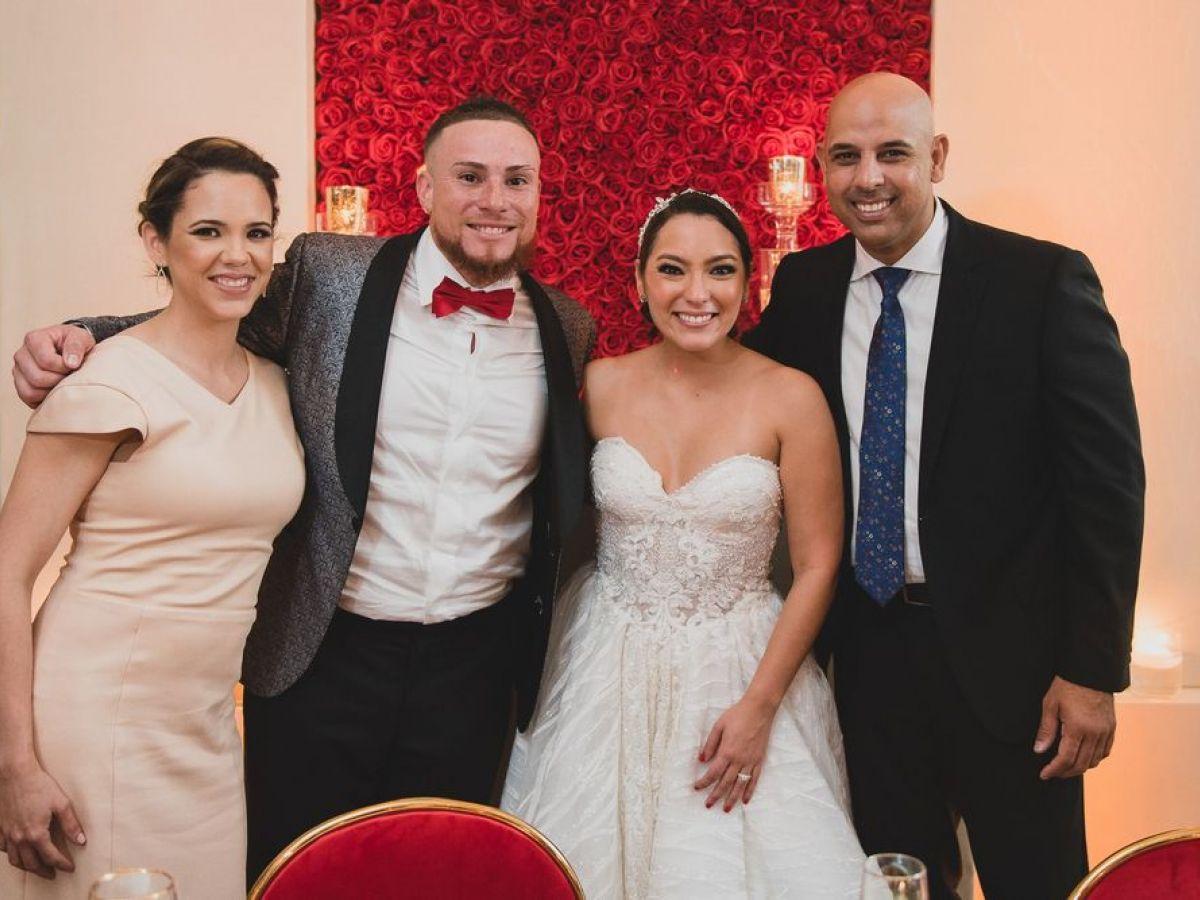 Se casa en Puerto Rico Christian Vázquez Berríos, el receptor de las Medias Rojas de Boston