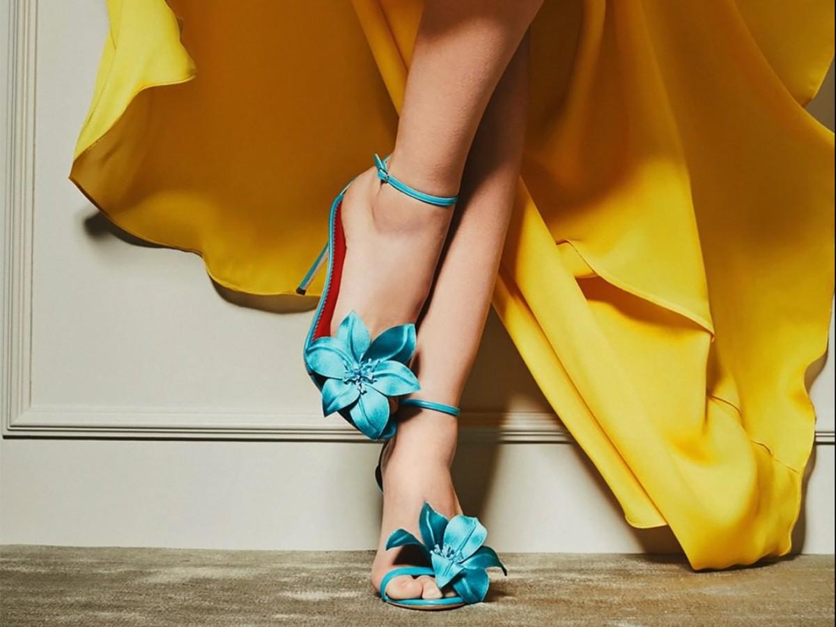 En sandalias de verano... ¡más es más!
