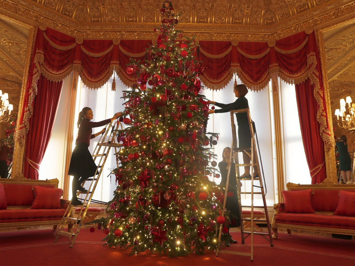 Llega la Navidad al castillo de Windsor