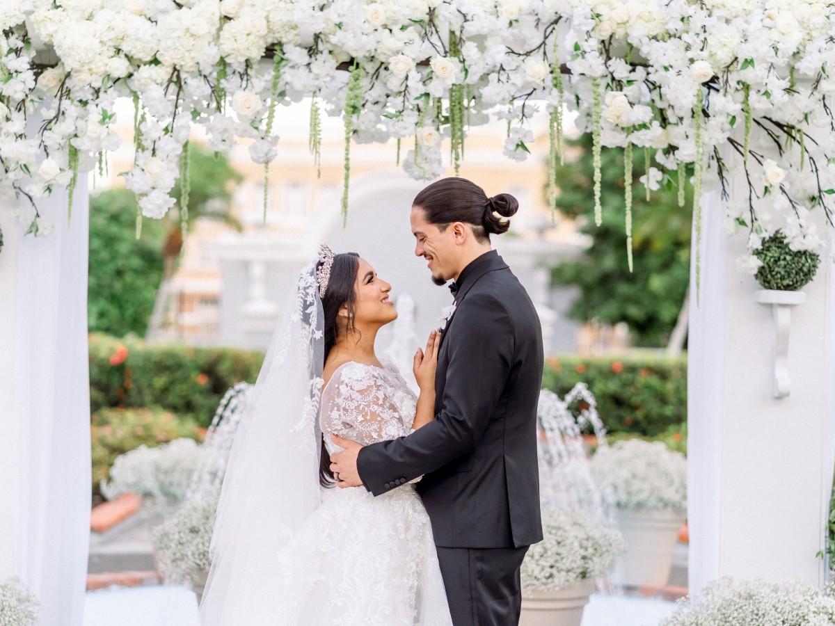 Así fue la boda de Dereck Rodríguez y Ashley Negrón