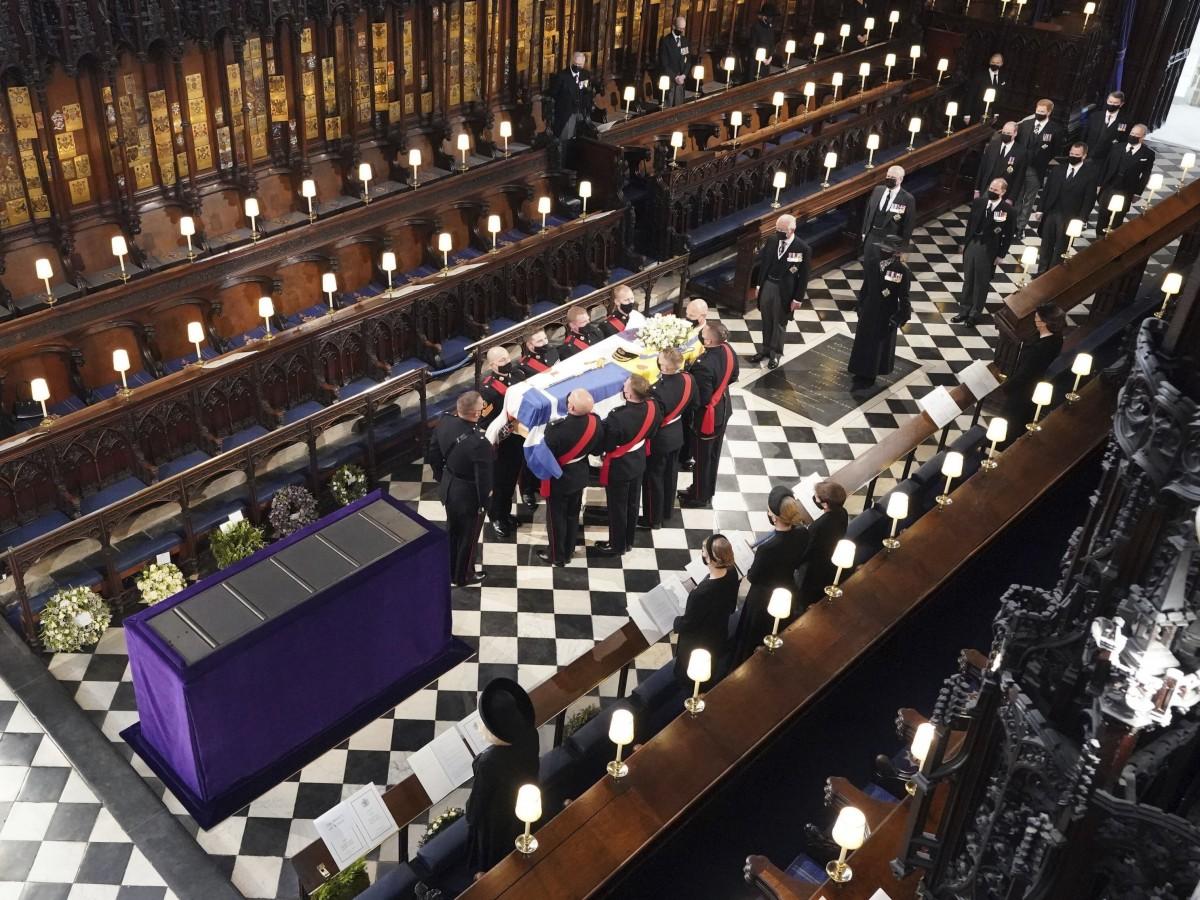 El funeral del príncipe Philip en imágenes