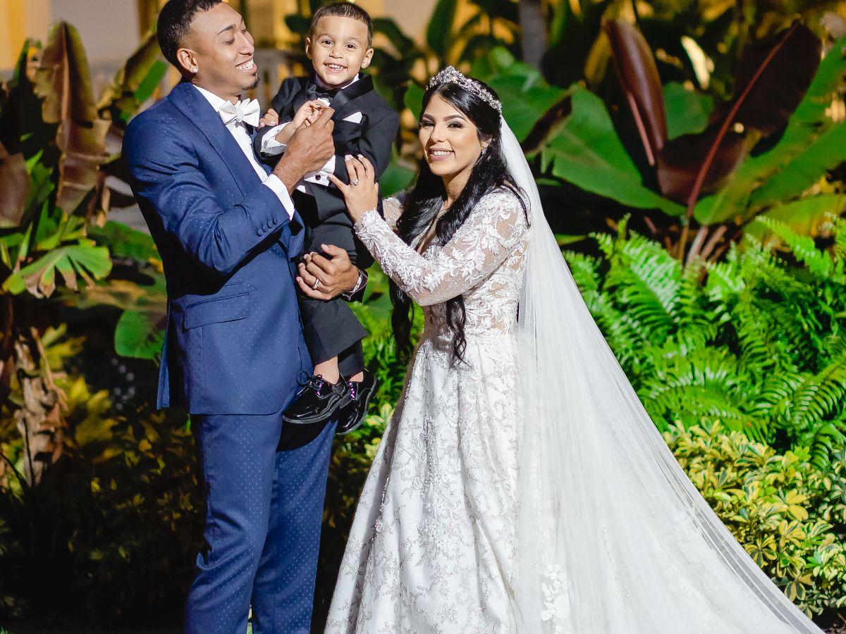 En exclusiva: Así fue la boda del lanzador Edwin