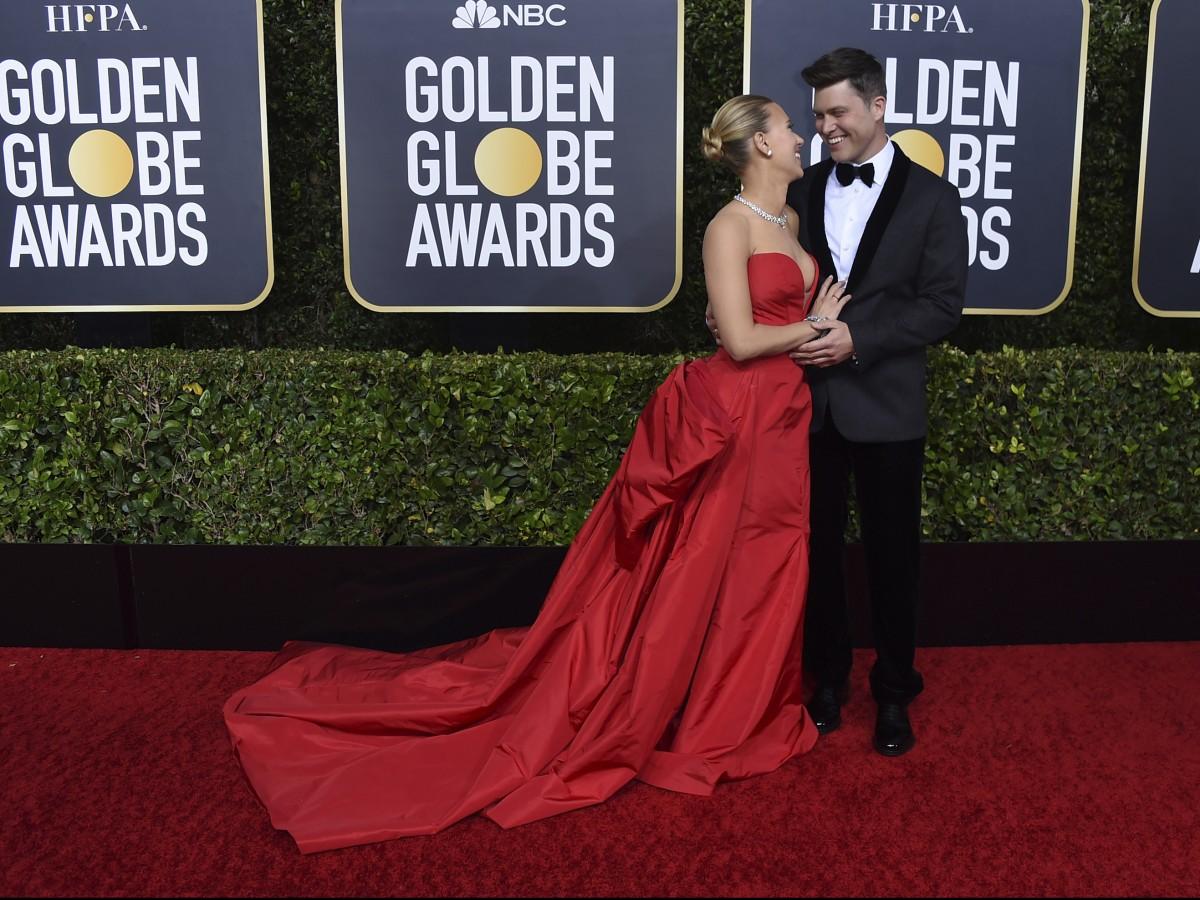 Romance y elegancia en la alfombra roja de los Golden Globes