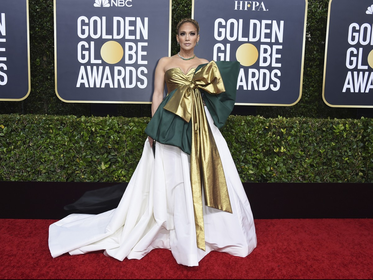 Brillan los famosos en la alfombra roja de los Golden Globe Awards