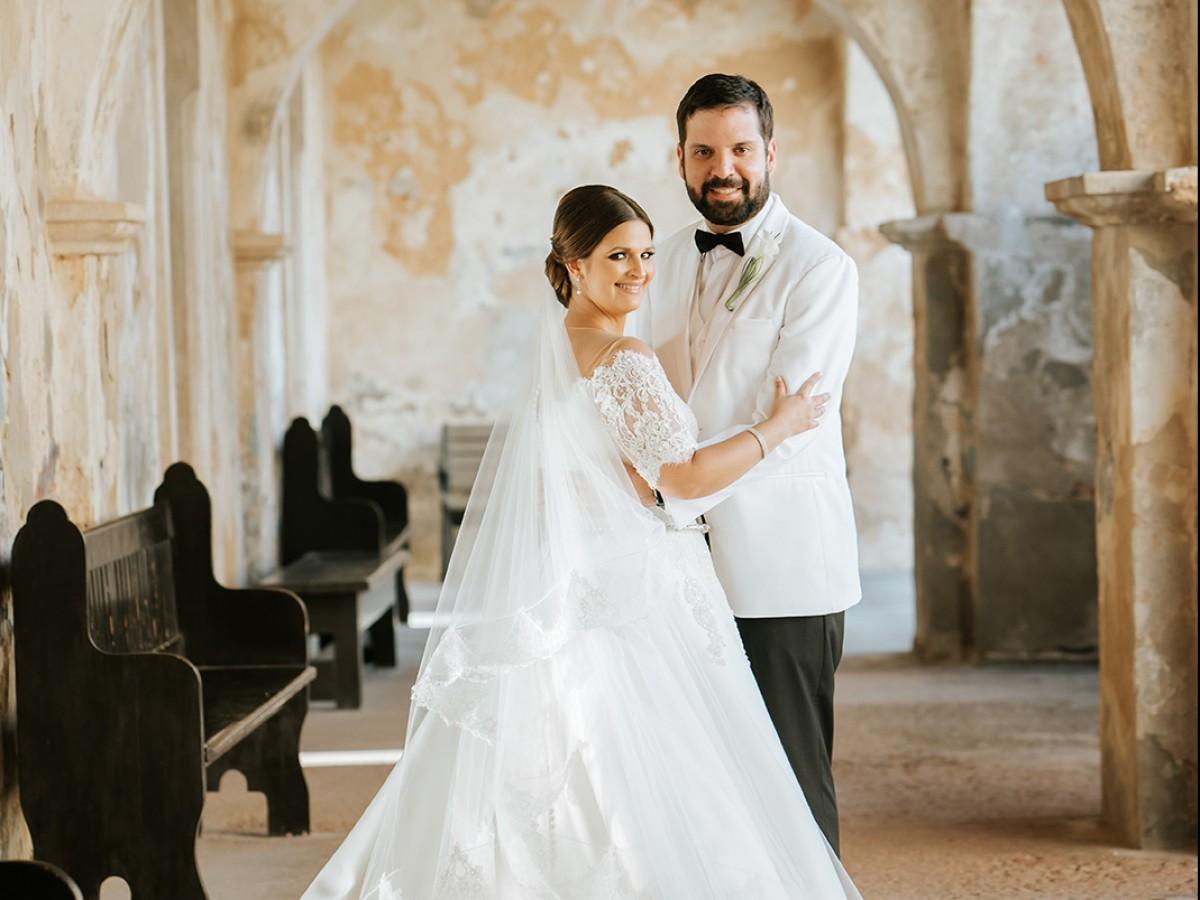 Boda de Gina Michelle Tormos Aponte y Pedro Fabián Crespo Bravo