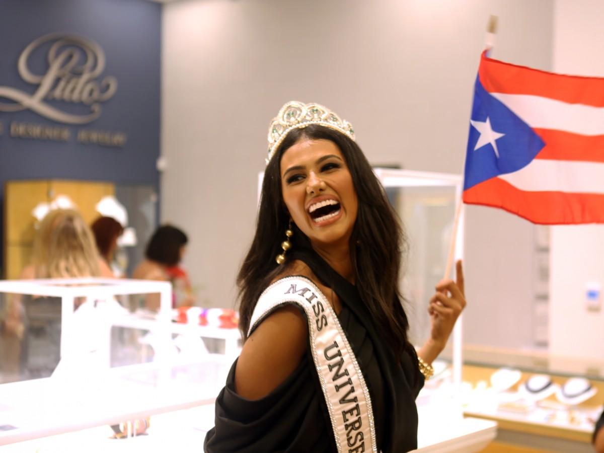 Una cita con Miss Universe Puerto Rico