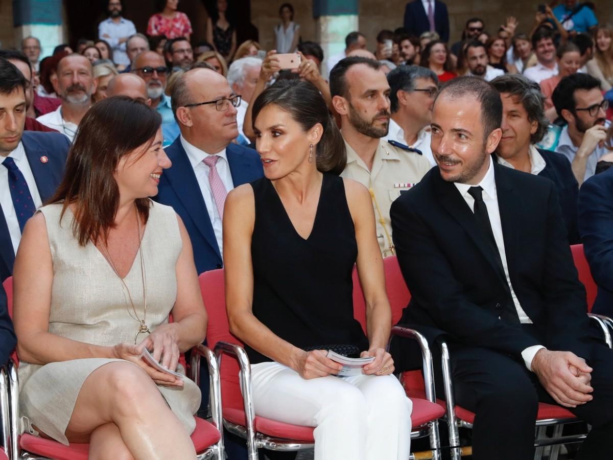 Letizia preside inauguración en festival de cine español