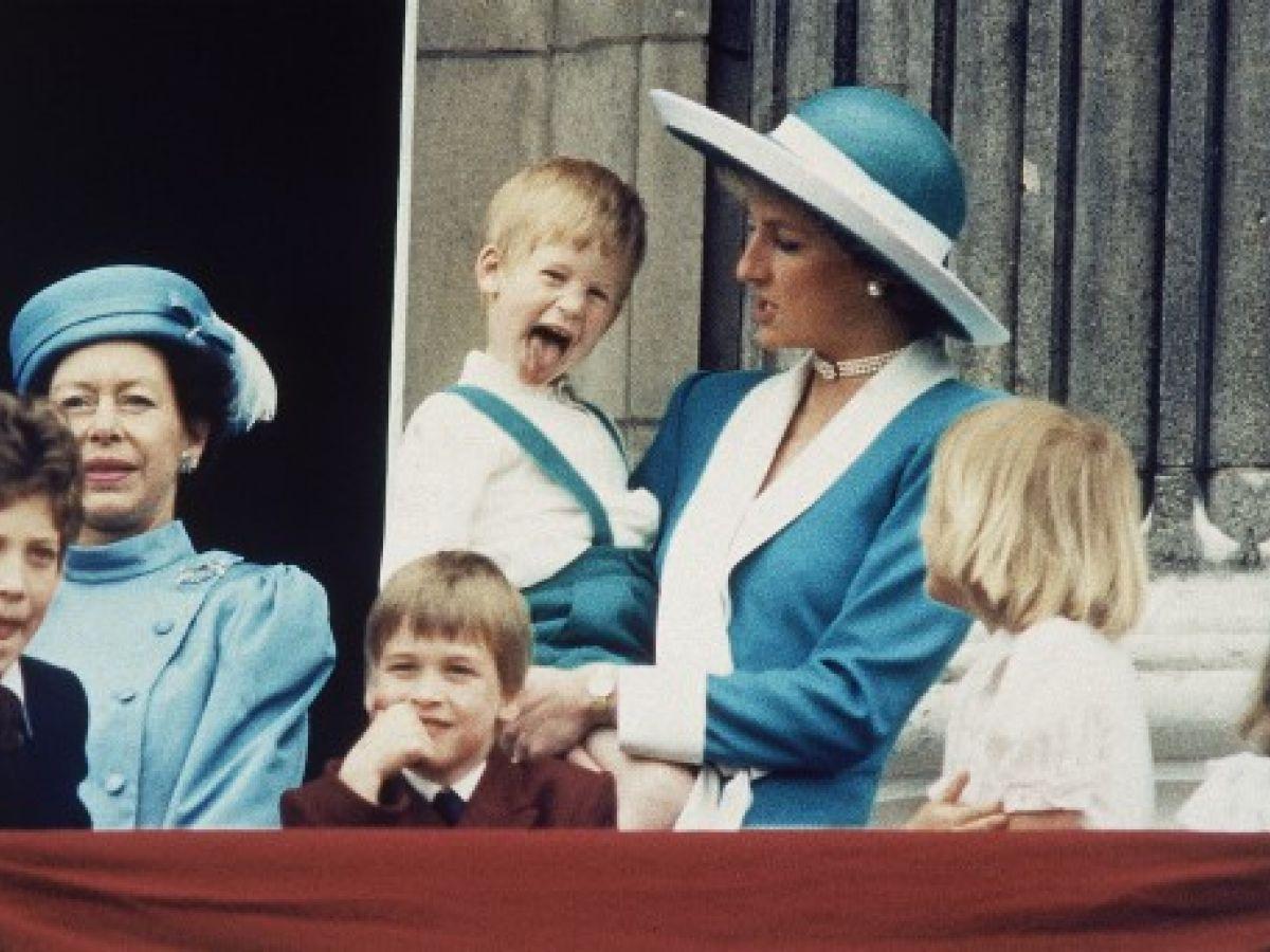 Harry: el mimado de Diana