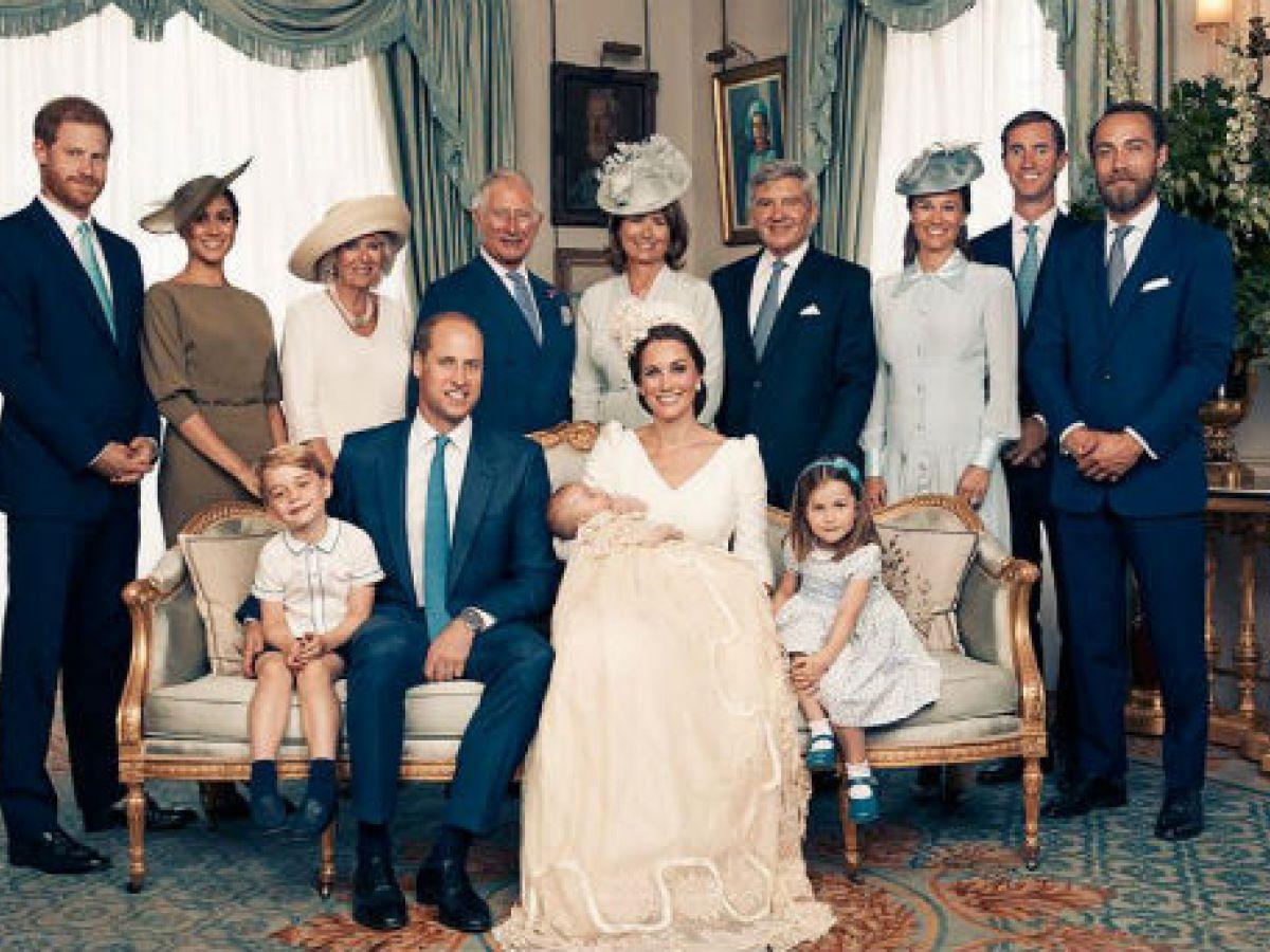 La familia real comparte las imágenes oficiales del bautismo del príncipe Louis