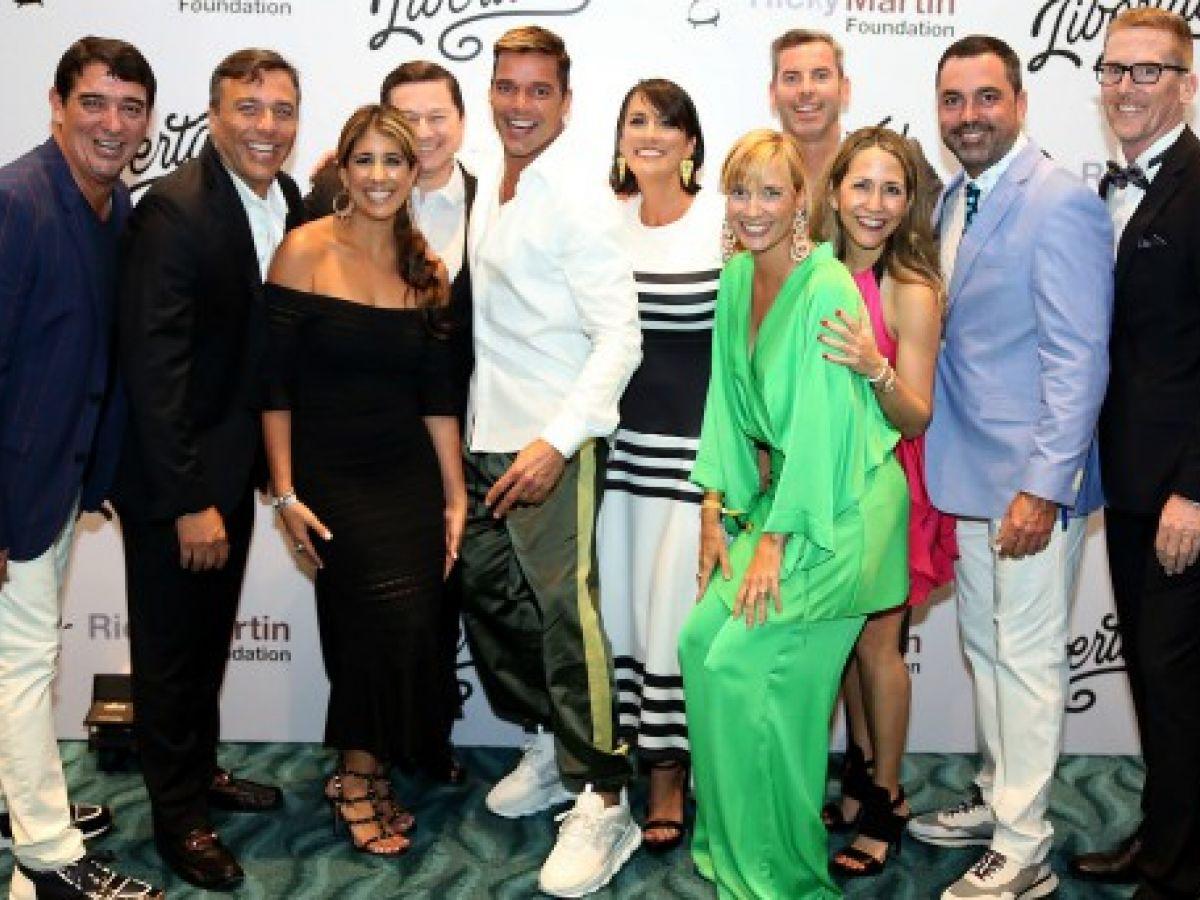 """""""Libertad"""", la segunda gala de la Fundación Ricky Martin"""