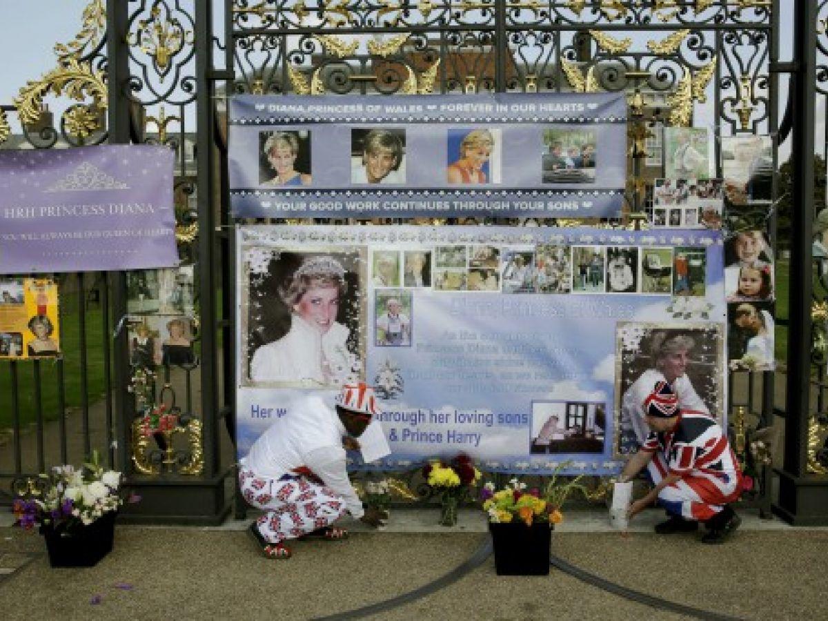Recuerdan a la princesa Diana en el vigésimo primer aniversario de su muerte