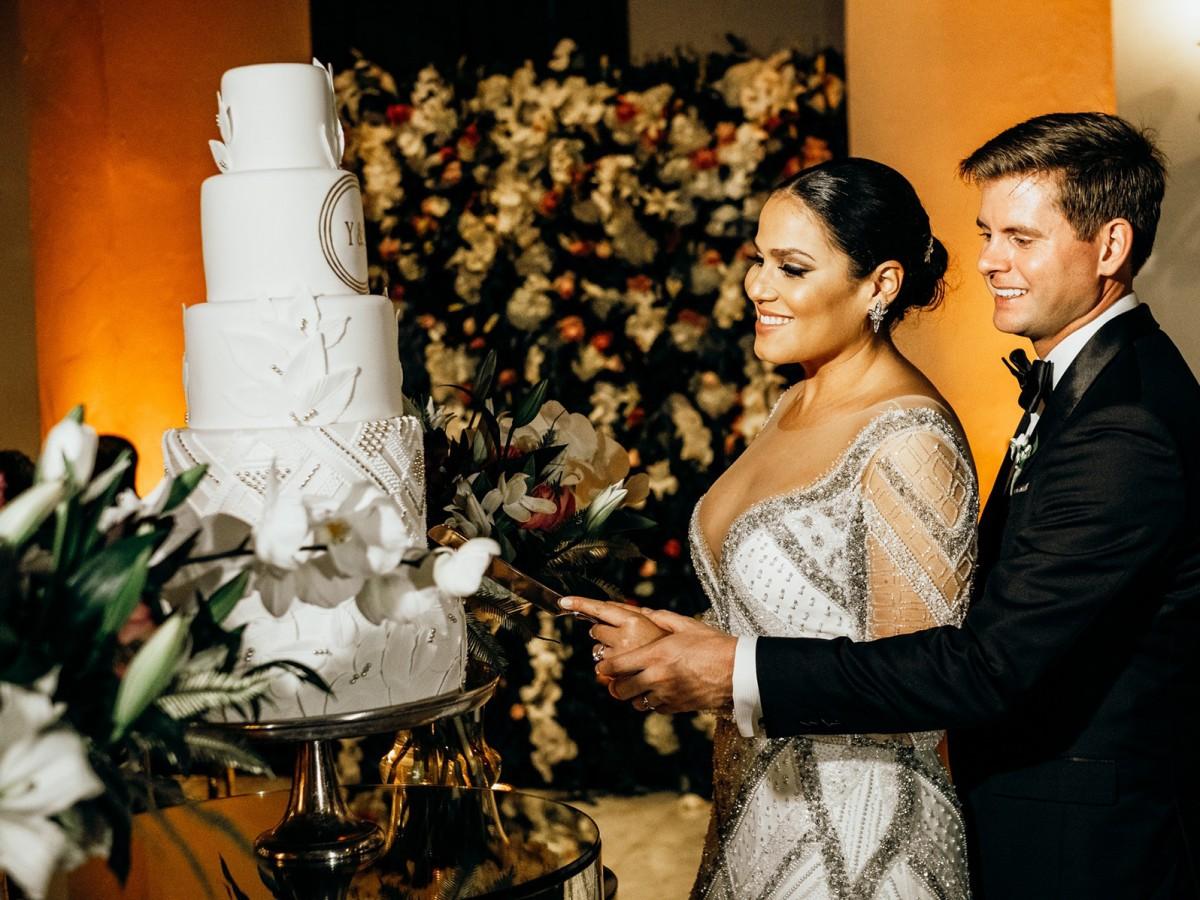 Opulencia sanjuanera en la boda de Yanina Adelaida Figuroa Justiniano y Brennan Andrew Lloyd Wheeler