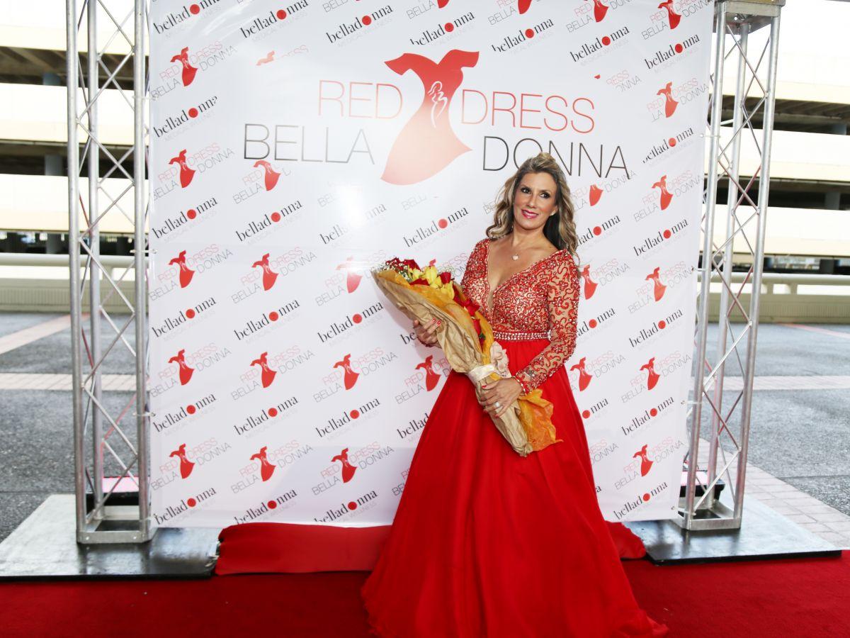Se visten de rojo por la salud cardiovascular de la mujer puertorriqueña