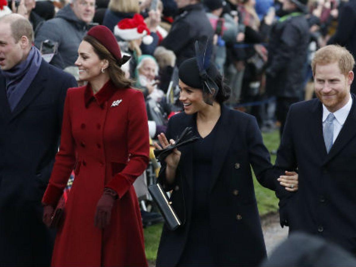 Duques de Cambridge y Sussex celebran juntos la Navidad