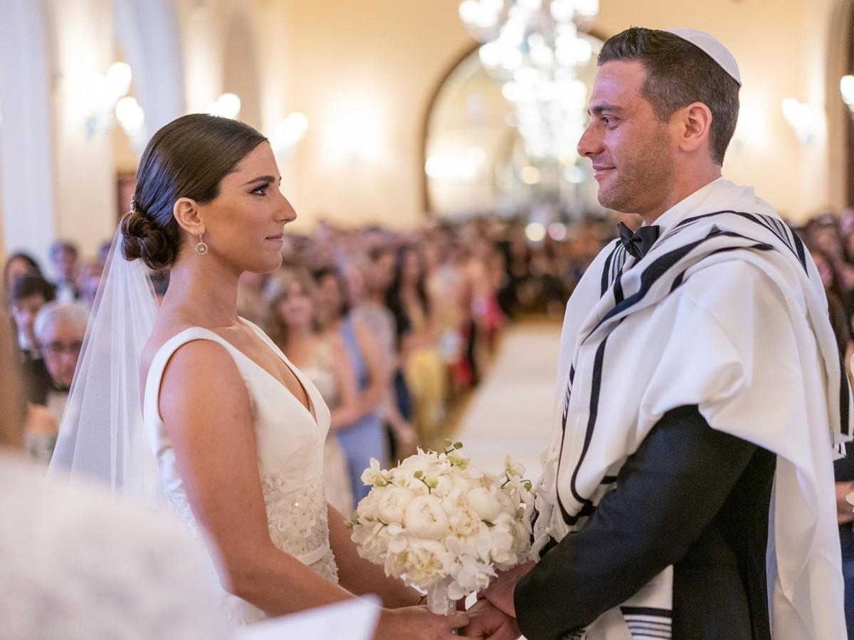 Elegancia y galantería en la boda de Patricia García y Ofer Harduf