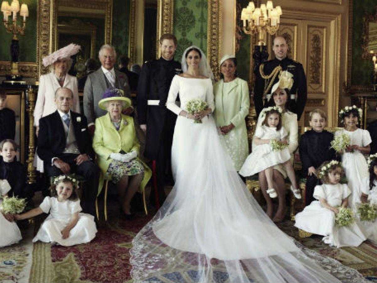 El palacio de Kensington comparte las fotos oficiales de la boda del príncipe Harry y Meghan Markle