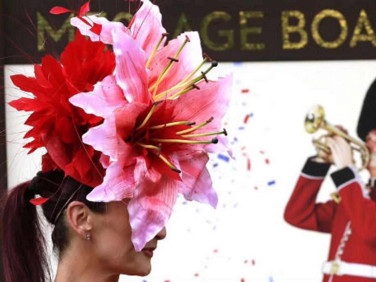 Los excepcionales sombreros del Hipódromo de Ascot