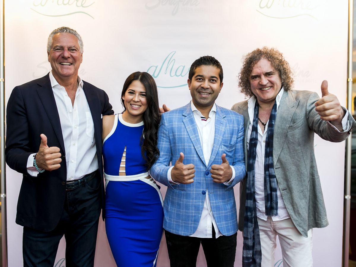 Restaurante aMare en Serafina Beach Hotel celebra su inauguración en grande