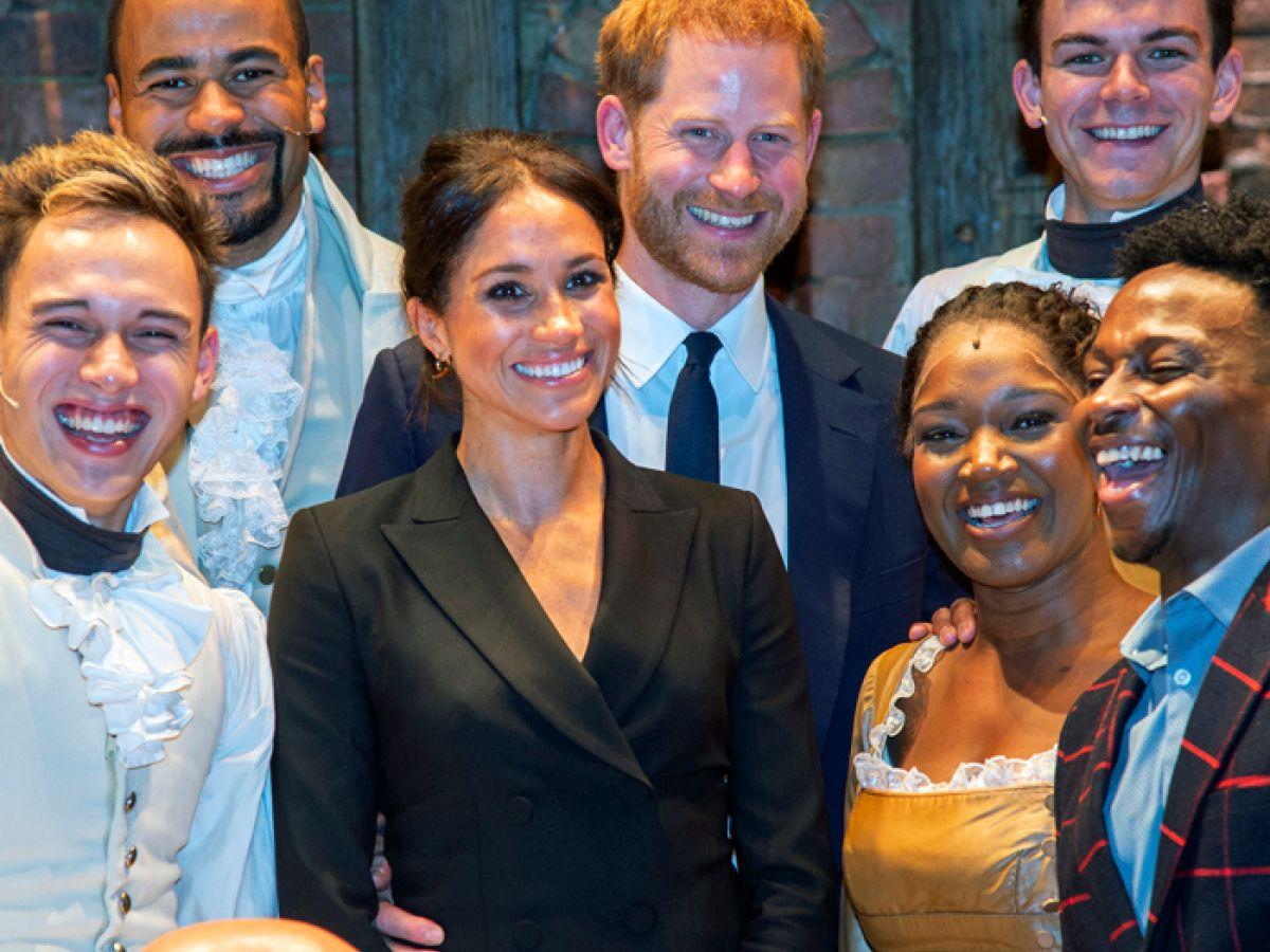 El príncipe Harry subió al escenario de Hamilton y cantó al lado de Lin-Manuel