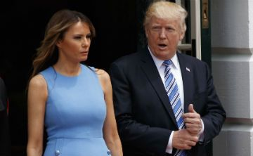 Se agota en horas vestido utilizado por Melania Trump