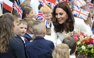 Kate Middleton habla de tener más bebés