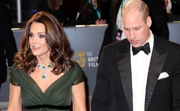 Kate Middleton recibe críticas por color de su vestido en los Premios Bafta