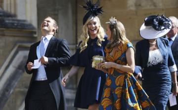 Las exnovias de Harry asisten a su boda con Meghan