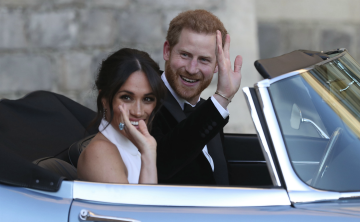 De fiesta Harry y Meghan