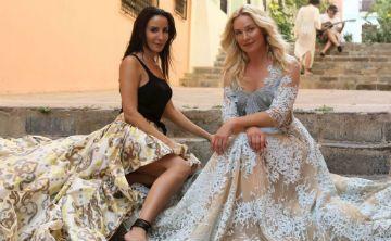 Stella Nolasco y Elisabeth Röhm: unidas por la moda y Puerto Rico