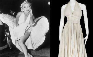 Subastan fotografías y vestidos de Marilyn Monroe