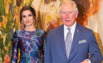 Unidos por el arte la reina Letizia y el príncipe Charles de Inglaterra