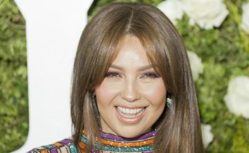 Thalía lanza su primera línea de cuidado para el pelo