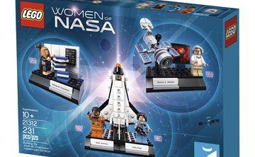 Lego presenta una caja de figuras en homenaje a mujeres de la NASA
