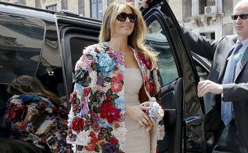 Melania Trump luce chaqueta de $51,000 de Dolce & Gabbana
