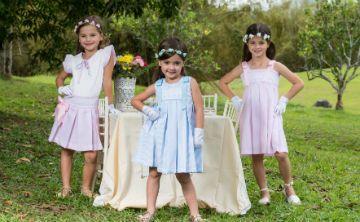Una casualidad llevó a Alexandra Martin a crear su línea de ropa infantil