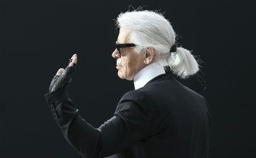Amigos despiden a Karl Lagerfeld