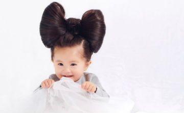 Una bebé con un cabello hermoso es la nueva embajadora de Pantene