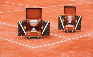 Louis Vuitton crea baúles para los trofeos de Roland-Garros