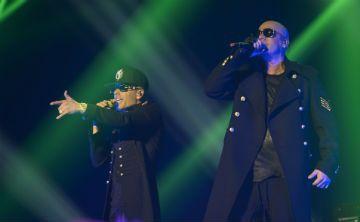 Un vistazo a la moda de Wisin y Yandel en su concierto