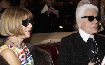 Anna Wintour rinde homenaje a Karl Lagerfeld