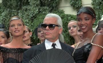 Los diseñadores y las modelos lloran la muerte de Lagerfeld